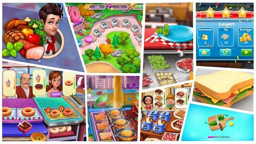 Télécharger Burger Cooking Simulator - Jeu de chef cuisinier APK MOD 2