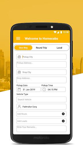 Homecabs Employee's 1.19.15 screenshots 1