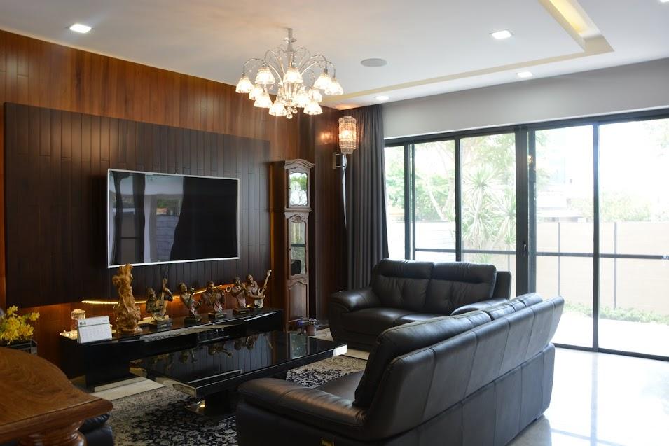 công trình nhà thông minh etron smarthome phòng khách