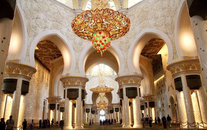Sheikh Zayed - Thánh đường trắng tuyệt đẹp ở Abu Dhabi - Ảnh 7.
