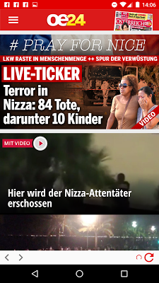 oe24.at - screenshot
