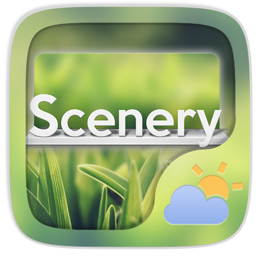Scenery Weather Widget Theme