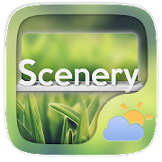 App Scenery Weather Widget Theme APK for Windows Phone