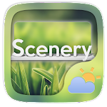 Scenery Weather Widget Theme 1.0 Apk