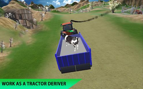 Farm Tractor cargo Transporter: Farmer Simulator - náhled