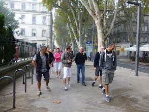 Photo: Au bas de la rue de la république. Devant le square Agricol Perdiguier