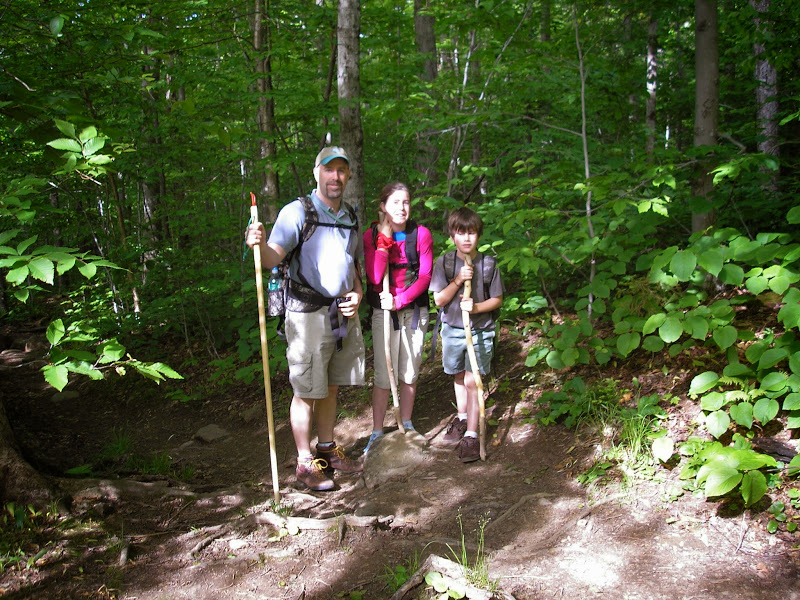 Photo: Family on a hike at Camel's Hump State Park by the Gardner Family