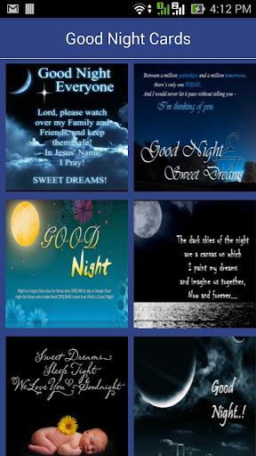 Good Night Card Apk Download Apkpureco