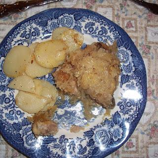 Chicken with Sauerkraut
