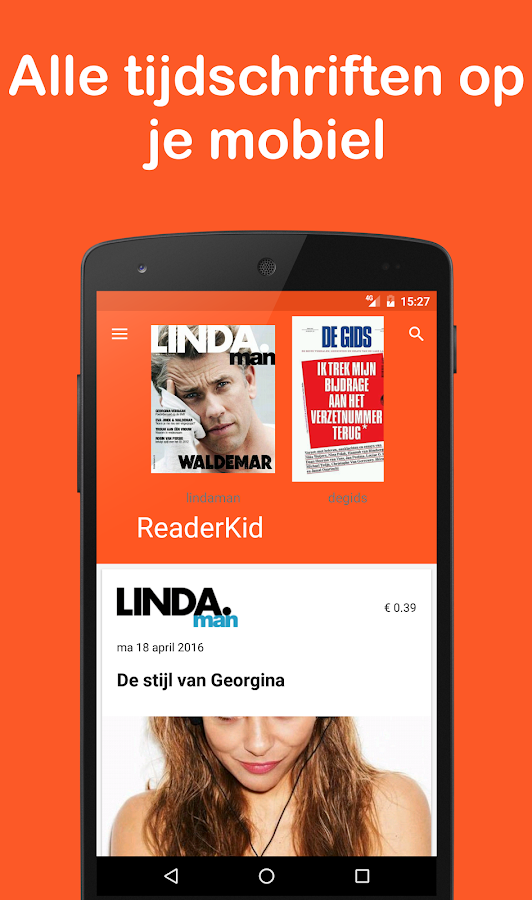 ReaderKid: screenshot