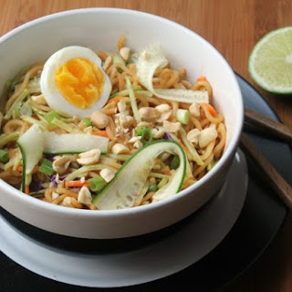 Easy Asian Noodle Salad.