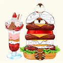 Cute Food & Drink - Color by Number icon