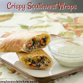 Crispy Southwest Wraps.
