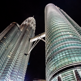 Petrons Twin Towes by Dharmesh Daula - Buildings & Architecture Architectural Detail ( petronas twin towers, malaysia, kuala lumpur )