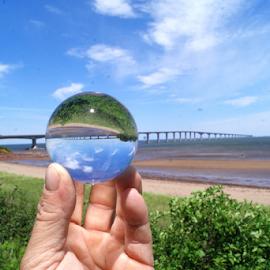 Confederation Bridge by Shawn Chapman - Artistic Objects Glass