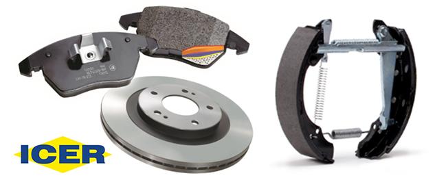 Тормозные диски и колодки ICER