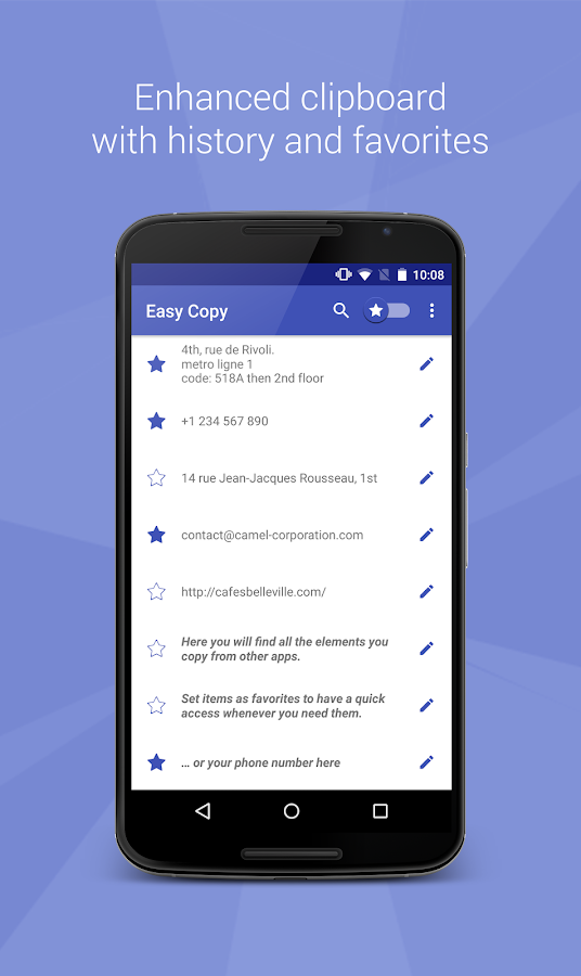 Easy Copy -The smart Clipboard- screenshot