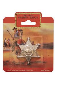 Sheriffstjärna, metall