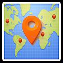 unknown caller location track icon