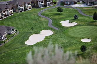 Photo: Stop 8 - View of West Bar - Golf Course