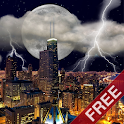Thunderstorm Chicago - LWP icon