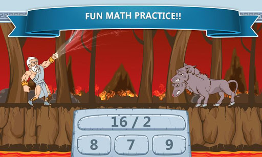 Math Games - Zeus vs. Monsters 1.19 screenshots 2