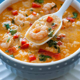 Thai Shrimp Coconut Curry.