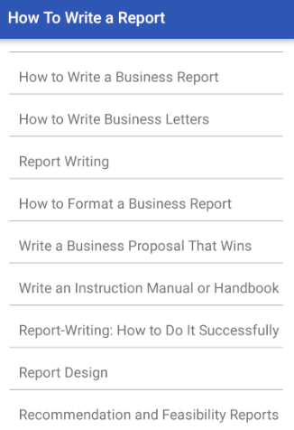 How to Write a Report with Pictures