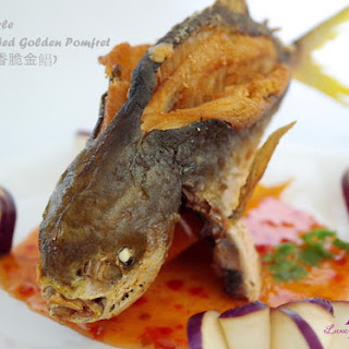 Thai-Style Deep-Fried Golden Pomfret