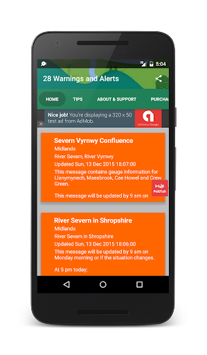 Flood Alert Live UK