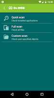 Screenshot of Anti-virus Dr.Web Light