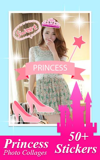 公主的照片拼貼