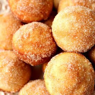Mini Cinnamon Sugar Donut Muffins.