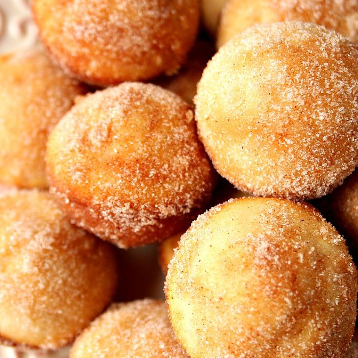 Mini Cinnamon Sugar Donut Muffins Recipe
