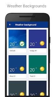 Transparent Clock & Wetter (Ad-free) Screenshot