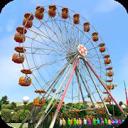 Ferris wheel  Funfair Amusement park