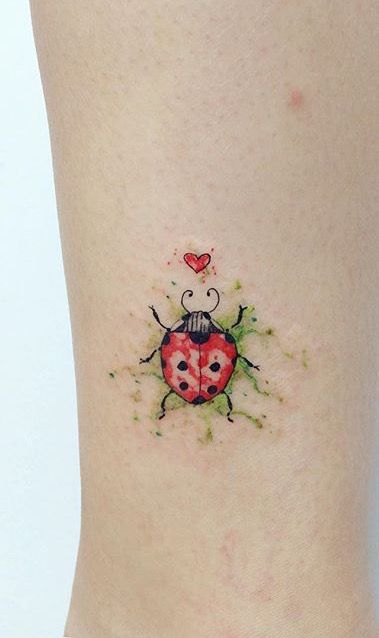 ladybug tattoo