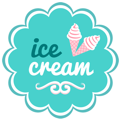 Retro Ice Cream Stickers