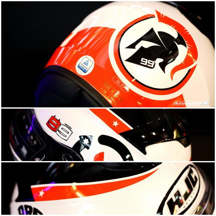 หมวกกันน็อค HJC IS 17 Lorenzo Angle 99  BKK