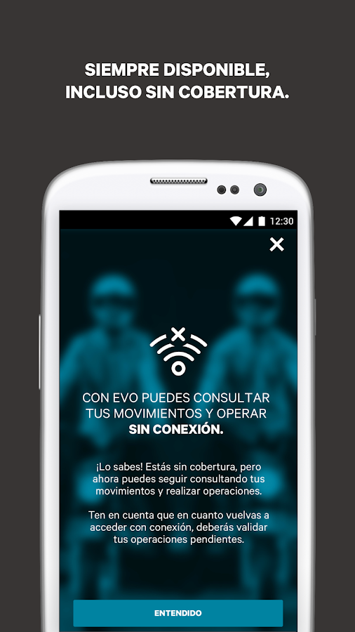 Evo banco m vil android apps on google play for Horario oficina evo