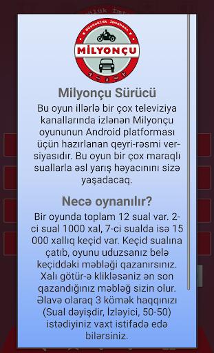 玩免費益智APP|下載Milyonçu Sürücü app不用錢|硬是要APP