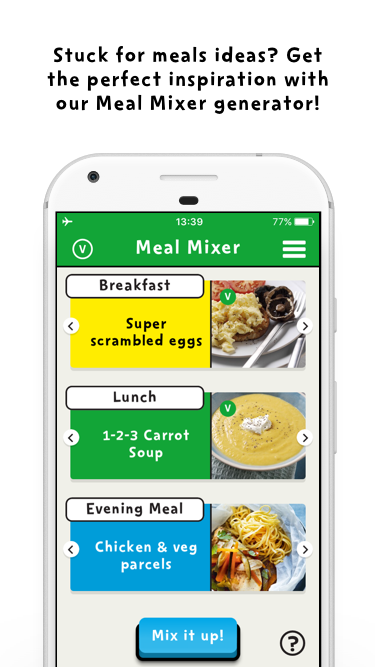 Change4Life Smart Recipes- screenshot