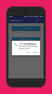 AirtelBalance - Check Balance And Data Usage - náhled