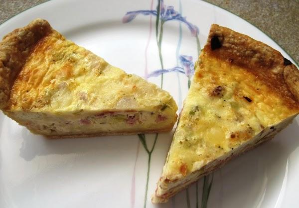 Quiche & Crust Recipe