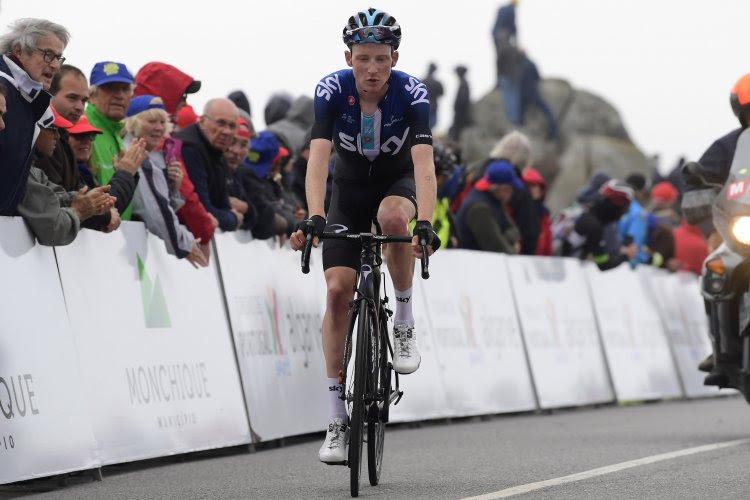 Talent van Team Sky boekt eerste profzege in openingsrit Ronde van de Alpen