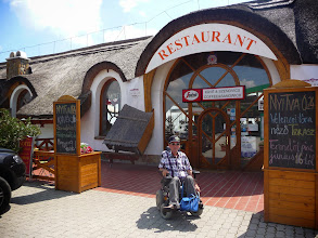 Photo: Restaurant Tekergö in Velence, Hungary.
