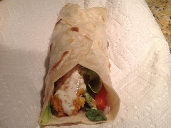 Chicken & Ranch Wraps, Jeanne's Way Recipe