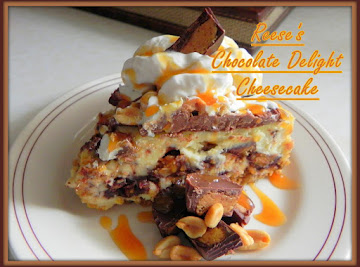 Reese's Chocolate Delight Cheesecake Recipe