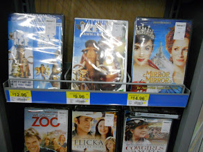 Photo: A good selection of family DVDs and decent prices.
