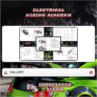 ELECTRICAL WIRING DIAGRAM Screenshot Thumbnail